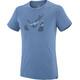 Millet Akna Wool Short Sleeve Shirt Men teal blue